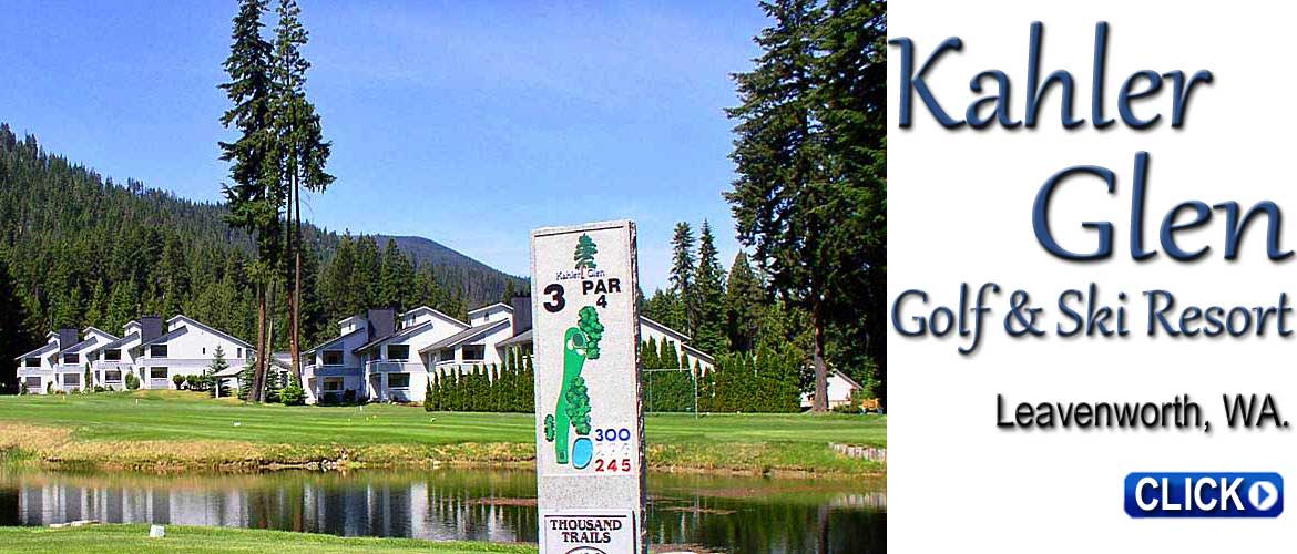 Kahler Glen Golf Course - Leavenworth